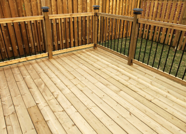 Cedar decking cedar supply for Best timber for decking