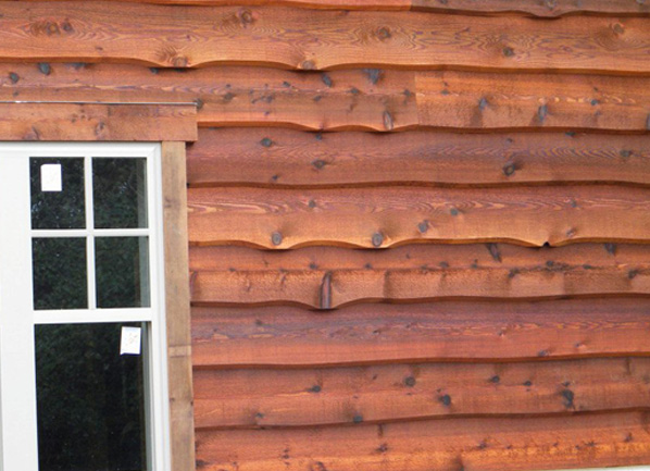 Wood siding ws roofing for Wood look siding