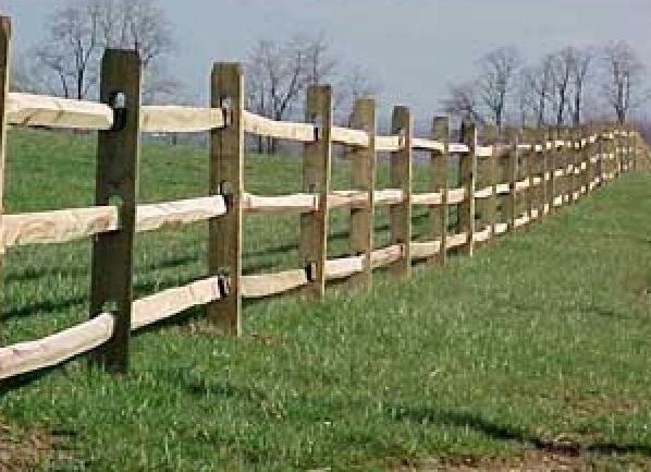 Split Post Amp Rail Fencing Cedar Supply